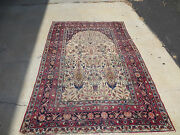Antique Rug 6x4 Hand Made Farahan  100 Wool One Of Kind Gorgeous Rug
