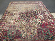 Antique Rug Kermansheh  12x 8 Hand Made  Over 100 Years Old One Of The Kind