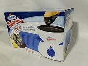 Twinkies Maker Bake Set With Silicone Baking Pan And Chocolate Dip Station - New