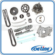 Fit 98-01 Lincoln Town Car 4.6l Timing Chain Kit Oil Water Pump Set