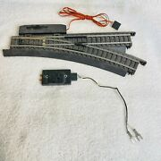 Power-loc Ho Scale Right Hand Remote Switch Track Rm 583207 And Abc Switch And Wire