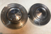 1961 1962 1963 Buick Special Poverty Dog Dish Hubcaps Set Of 2