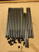 Indy Cyinder Head 3/8 Diameter Push Rod Kit New Never Made Up See Text And Pics