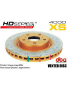 2 X Dba Xs Cross-drilled And Slotted Rotor For Lexus Rx Agl1_ Dba42702xs