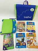 Leapfrog Leappad Learning With System Case And 5 Games/books