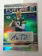 Aaron Rodgers 12 Green Bay Packers 2020 Panini Elite Card Bfs-ar Auto 19/35