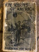 First Edition Proof Copy 1911 Boy Scout Handbook For Boys - Extreemly Rare