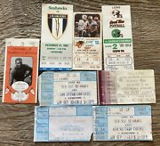 Lot Of 8 Nfl Cfl And Ncaa Football Ticket Stubs Seattle Bc Lions Usc San Diego
