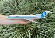 Alaska Airlines Boeing 727 Wood Model Jet Airplane Passenger No Stand No Tail