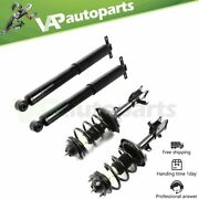 For Honda Odyssey 2005-2007 Rear Complete Struts With Coil Spring And Front Shocks