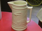 Vintage Red Wing 1933 Worlds Fair Transportation Pitcher Rare