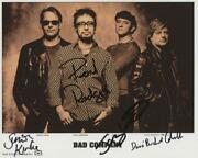 Reprint - Bad Company Paul Rodgers Band Signed 8 X 10 Photo Rp Poster Man Cave