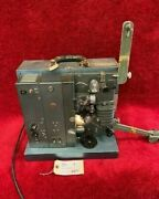 Rca 16mm Sr. Model 400 Sound Projector With Tube Amplifier C