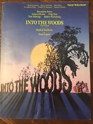 Into The Woods Revised Edition Sheet Music Vocal Selections Book