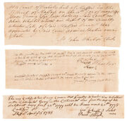 Valley Forge Camp Continental Army Soldier 2nd Regt. Ct. Service Certifications