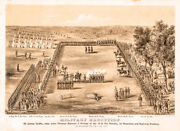 September 17 1863-dated Civil War Period Print Titled Military Execution