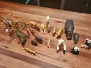 Britains Ltd Zoo Animal Toy Figures 21 Lot Alligator, Camel, Tigers, And More