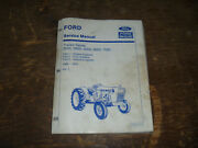 Ford New Holland 2000 3000 Tractor Series Engine Electric Service Repair Manual