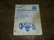 Ford New Holland 2000 3000 Tractor Series Transmission Pto Service Repair Manual