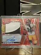 Anthony Mcfarland Jr. 2020 Panini Certified Auto Rpa /25 Red Prizm Steelers Sp