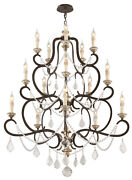 Troy Lighting F3517 15 Light Chandelier Bordeaux Parisian Bronze