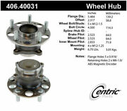 Centric Parts 406.40031 Wheel Bearing And Hub Assembly For 13-20 Accord Tlx