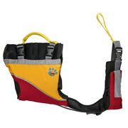 Mti Life Jackets Mv502a-s-831 Mti Underdog Life Jacket For Dogs S Red/mango