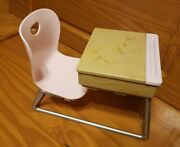 Our Generation Pink School Desk Accessory For 18 Doll Battat Furniture Toy