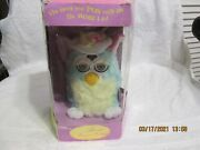Easter Spring Furby Box Is Worn - Works Great Year 2000 13,715 Of 250,000