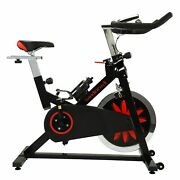 Exercise Bike Indoor Cycling Bicycle Stationary W/lcd Display Home Cardio Gym