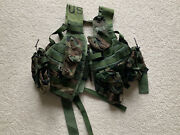 Usgi Fighting Load Carrier Vest Molle Ii With Pouches New