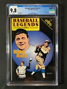 Baseball Legends Comics 1 Cgc 9.8 1992 - Babe Ruth - 1 Of 1 Cgc 9.8