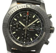Breitling Colt M13388 Chronograph Black Dial Automatic Menand039s Watch_608191