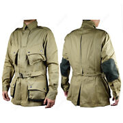 Wwii Us Airborne M1942 Jacket American Paratrooper Repro Army D-day Uniform