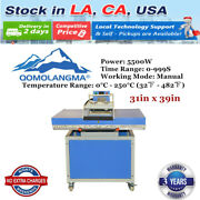 Usa 220v 31in X 39in Large Format Textile Transfer Heat Press Machine
