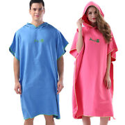 30xnew Drying Changing Robe Bath Towel Outdoor Adult Hooded Beach Towel