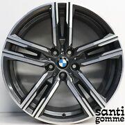 4 Rims Alloy 19and039and039 Bmw S 8 G14 G15 Anthracite Grinding 8090019 8090020