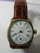 Rare Antique Wwi Waltham Officers Trench Watch Running Nice