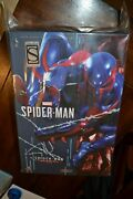Hot Toys Sideshow Exclusive Spiderman Spider Man 2099 Black Suit Vgm42 In Hand