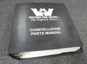 1998 Western Star 5900 5942 5964 5942s 5942ss 5964s Truck Parts Catalog Manual