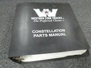 1999 Western Star 5900 5942 5964 5942s 5942ss 5964s Truck Parts Catalog Manual
