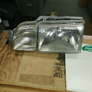 1988-1989 Scorpio Oem - Nos Rt And Lt Headlamp Assyand039s E7ry13008a And B