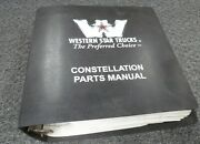 2000 Western Star 5900 5942 5964 5942s 5942ss 5964s Truck Parts Catalog Manual