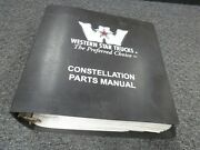 1990-1991 Western Star 3842 3864 3842s 3864s 3864s-n Truck Parts Catalog Manual