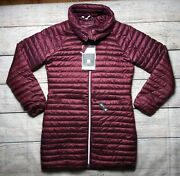 Craghoppers Womans Velvet Thermopro Down Puffer Jacket Nwt Size S