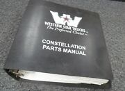 2001 Western Star 4842s 4864f 4864s 4842fx Truck Parts Catalog Manual