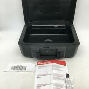 Sentrysafe Fireproof Compact And Portable Key Lock Document Storage Security Box