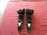 Used Porsche 944 Seat Belts Left And Right Assemblies German 477-857-705-h And 706-h