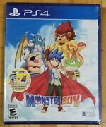 Monster Boy And The Cursed Kingdom Sony Playstation 4 Ps4 Brand New Sealed