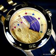 Marvel Thanos Infinity Stones Gem Pro Diver Scuba Limited Watch 48mm New